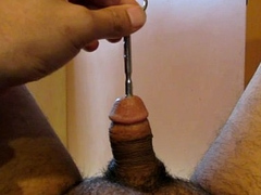 Quick steel peehole  insertion