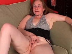 Kinky old spunker fucks her broad in the beam juicy love tunnel for you