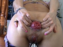RaisaWetsX Bodice Anal Balls and Cummm trailer