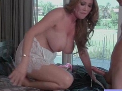(Kianna Dior) Big Melon Tits Housewife Love Intercorse movie-27