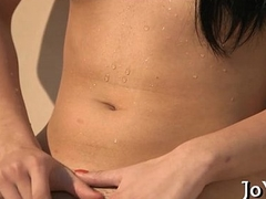Teen toys derisive cleft to geet orgasm