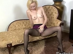 Unconditional tits in pantyhose