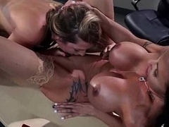 Hard Punish Sex Games Between Gorgeous Lesbians (jenna&amp_jewels) video-25