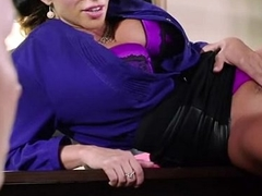 Busty Cougar Office Sex 1