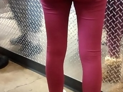 Omg teen ass leggings pink 2 thong see through 18 pussy shaved