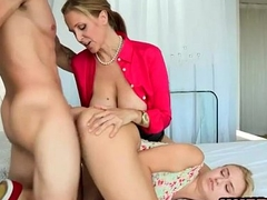 Natalia Starr and Julia Ann nasty 3some