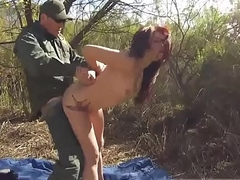 Cop fucks taxi driver xxx Redhaired peacherino can do everything to