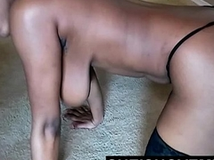 Energetic Asian Teen Popping Large Natural Saggy Tits In Your Mouth To Suck POV