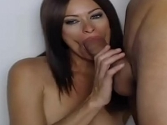 MILF Sucks Big Hard Cock On Webcam