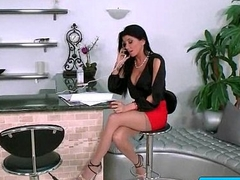 Hot busty secretary pounded by her boss in the office 27