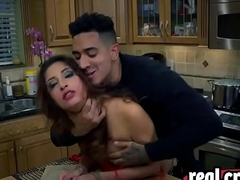 Tied Jade Jantzen Blowjob Doggy Style Kitchen