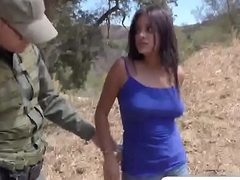 Agent has sexual relations in all directions civilian Latina girl in all directions natural tits
