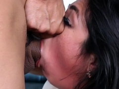 Latin mollycoddle Lexi Bandera fucked with hard penis