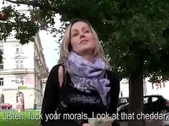 Public Sex For Some Money With Teen Amateur Euro Slut 09