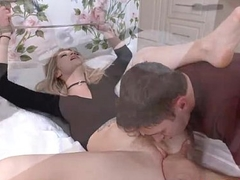 Sexy Arya Faye disciplined by neighbor knob for disturbing a difficulty peace