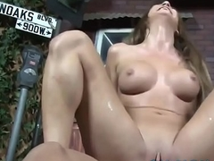 Dirty Blonde Jessica Rides This Latino