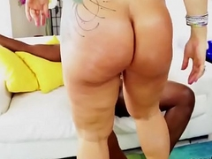 Pornstar beauty gets her assfuck shagged with beefy cock