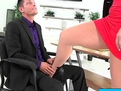 Big tit secretary fucked by her boss 13