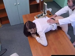 Redhead at all events cockriding her doctor