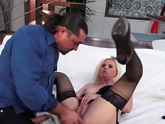 European cougar fucked by hard cock