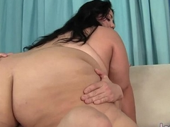 Sexy Fat Baby Sucks and Fucks a Stiff Cock