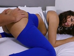 Beautiful big ass babe Kitty Catherine POV gets fucking
