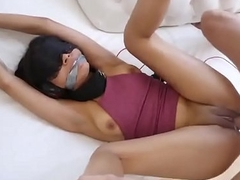 Brunette Teen Maya Bijou Villeinage Fucking Dress down