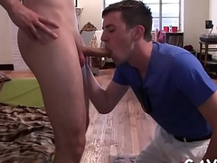 Homosexual morose massage clip
