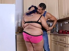 Angry BBW Babe is Calmed and Fucked away from Hubby'_s Friend