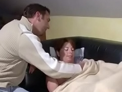 German Step-Son Seduce Step-Mom to Roger When Home Alone