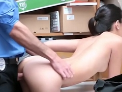 Defalcation Asian Cutie gets busted and fucked